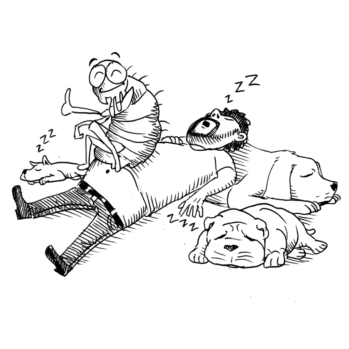 He who sleeps with dogs will rise up with fleas