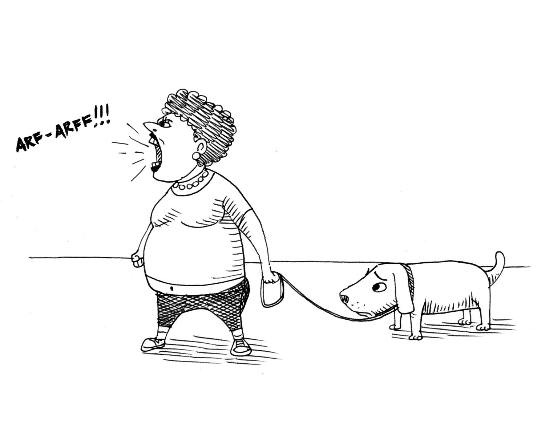 Why keep a dog and bark yourself